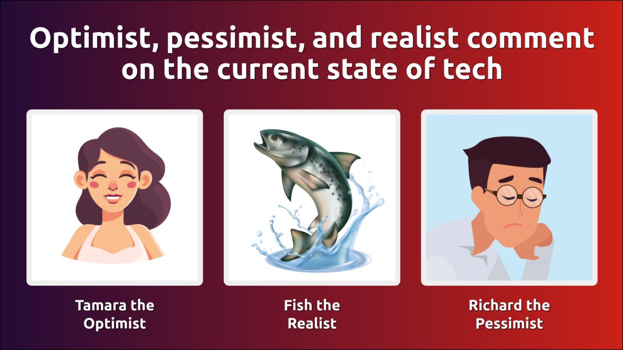 Pessimist realist optimist Realist vs